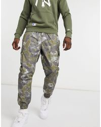 KTZ Outdoor Utility Trackies With All Over Print-green