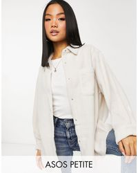 ASOS - Бледно-розовая Флисовая Куртка-рубашка - Lyst