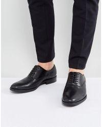 ALDO - Eloie Oxford Leather Shoes In Black - Lyst