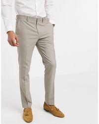 SELECTED Skinny-fit Pantalon Met Stretch - Grijs
