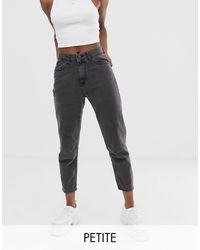 Noisy May - – e, knöchellange Mom-Jeans - Lyst