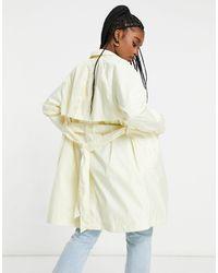 Nike Woven Trench Coat - White