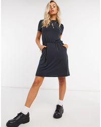 Object Maxwell Core Slinky Mini Dress - Black
