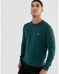 Lacoste Jersey de cuello redondo - Verde