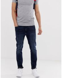 1e311a8e Hilfiger Denim Tommy Jeans Simon Skinny Fit In Stretch Mid Wash in ...
