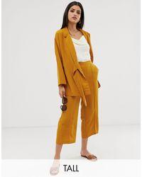 Y.A.S Mustard Culottes - Brown