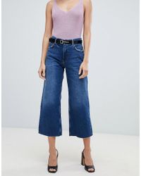 Mango - Cropped Jeans - Lyst