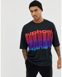 ASOS - Oversized T-shirt With Euphoria Print - Lyst
