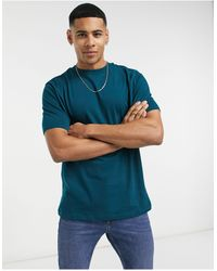 River Island Camiseta azul cerceta oscuro