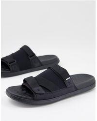 TOMS Trvl Lite Slides - Black