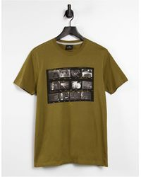 PS by Paul Smith – Schmales T-Shirt - Grün