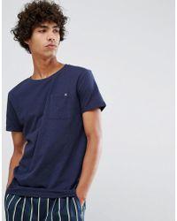 Clean Cut Copenhagen Premium Slub Pocket T-shirt - Blue