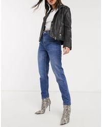 TOPSHOP Mom jeans indaco - Blu