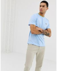 Lacoste Twin Tipped T-shirt In Blue