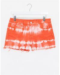 Blank NYC Denim Shorts - Orange