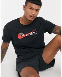 Nike - Черная Футболка С Логотипом Essential-черный - Lyst