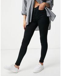 Vila Skinny Jeans - Black