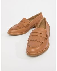 ALDO Leather Loafers - Brown