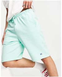 Russell Athletic Forester Logo Shorts - Green