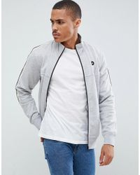 Jack & Jones - Core Jersey Track Top With Arm Stripe - Lyst