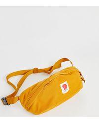 Fjallraven - Bershell Bum Bag In Mustard - Lyst