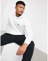 adidas Originals - Essentials Hoodie - Lyst