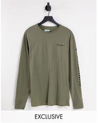 Columbia Camiseta verde/negra