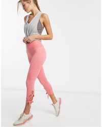 Free People Swerve - Legging - Roze