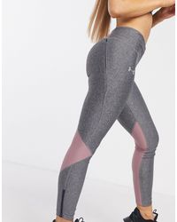 Under Armour Running Fly Fast Panelled Tights - Grey