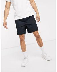Fred Perry Drawstring Twill Shorts - Black