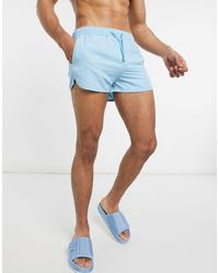 Bershka Swim Shorts - Blue