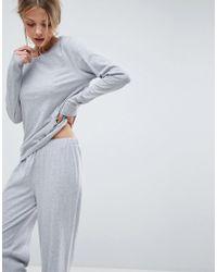 ASOS - Mix & Match Long Sleeve Pyjama Tee - Lyst