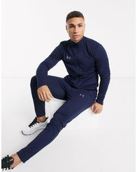 Under Armour Football Challenger Ii Knit Tracksuit - Blue