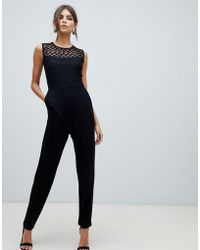 French Connection - Fitted Jumpsuit - Lyst