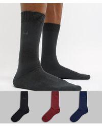 Pringle of Scotland Endrick Socks 3 Pack - Multicolour