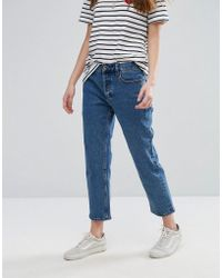 RVCA - Relaxed Boyfriend Jeans - Lyst