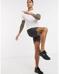 New Look Pantalones cortos deportivos es para correr - Gris