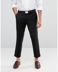 Farah - Skinny Cropped Trousers - Lyst