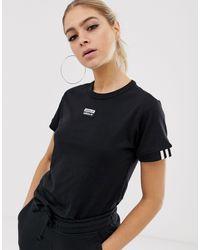 adidas Originals - Черная Футболка Ryv-черный - Lyst