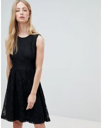 ONLY - Armilla Lace Sleeveless Dress - Lyst
