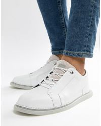 Camper - Nixie Leather Trainers In White - Lyst