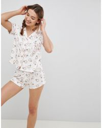Chelsea Peers - Bridal Ring Short Pyjama Set - Lyst