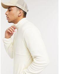 Jack & Jones Кремовая Флисовая Куртка Со Вставками Originals-бежевый - Естественный
