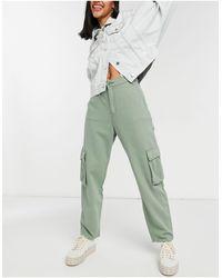 Levi's - Pantaloni cargo ampi kaki - Lyst