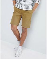 D-Struct Pantaloncini con elastico in vita - Verde