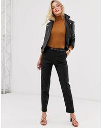 Mango Tailored Pants - Black