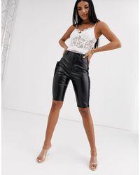 Public Desire Cargo Shorts - Black