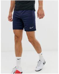 Nike Football Academy Shorts - Blue