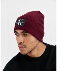 Calvin Klein Gorro de punto - Marrón