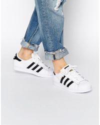adidas Originals Originals Unisex Superstar White & Black Sneakers